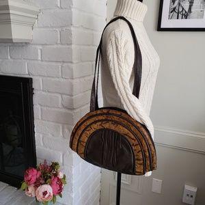 VINTAGE half moon bag